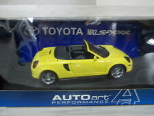 Auto Art 1/18 - Toyota MR2 spyder  - yellow