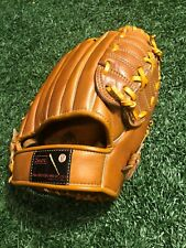 "Sears Vintage Baseball Glove 1628 Pro Style Pocket Cowhide RHT 10"" Leather"