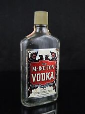 Rare Vintage Old Mr Boston Vodka Pint BOTTLE ONLY!