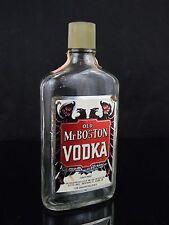 Rare Vintage Old Mr Boston Vodka Pint BOTTLE ONLY!