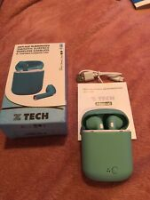 New listing Nib! Ztech Smooth Surface Wireless Earbuds With Charging Case For Iphone.