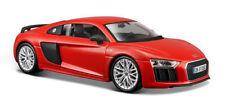 Maisto 1:24 Display Special Edition Audi R8 V10 Plus Diecast Car 34513 Red