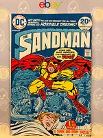 Sandman #1 Fine+ 1st Appearance By Jack Kirby 1974 Bronze Age Key Issue
