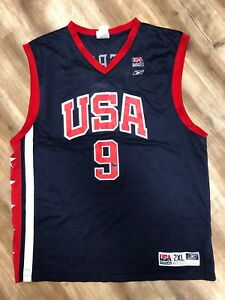 PAUL PIERCE USA OLYMPIC TEAM REEBOK NBA BASKETBALL JERSEY XXL