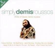 DEMIS ROUSSOS - SIMPLY DEMIS ROUSSOS  2 CD NEW!