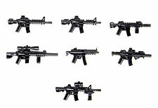 Weapons Pack V4 Custom Guns Army (P19) Compatible with toy brick minifigures