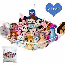 """Lilly's Love Stuffed Animals Storage Hammock - Large Pack 2 """"STUFFIE PARTY"""