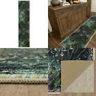 Rowland Charcoal 2 Ft. X 8 Ft. Abstract Runner Rug