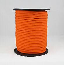 1/4″ 500 ft Bungee Shock Cord Neon Orange Marine Grade Heavy Duty Shock Rope