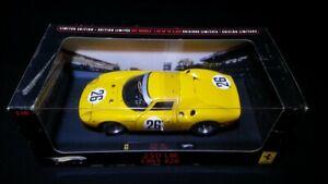 Ferrari 250 LM Le Mans #26 Elite Hot Wheels 1/18