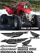 440ex Decals ATV Graphic Gen1 Sportax Gloss BLACK Quad Pick Color 12pc sticker