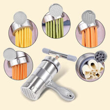 Stainless Steel Pasta Noodle Maker Machine Cutter For Fresh Spaghetti Kitchen