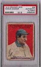 1915 Cracker Jack Honus Wagner #68 PSA Authentic Altered CS135