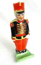 ANTIQUE TOOTHBRUSH HOLDER *TOY SOLDIER* BRIGHT COLORS c.1930'S