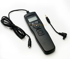 for Canon 5d Mark II III 7d LCD Timer Shutter Release Remote Control Cable