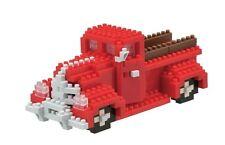 Pickup truck (Level 3) 3-d Nanoblock 320 piezas mini bloques de creación Kawada 14711