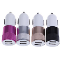 Car phone charger 2-port usb universal car charger dual usb car charger FT