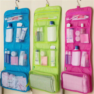 Waterproof Travel Wash Bag Toiletry Cosmetic Organizer Make Up Beaty Case