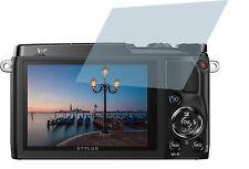 Olympus Stylus SH-2 (4x) CrystalClear LCD screen guard protector de pantalla