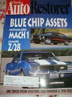"""Vtg Lot (5) """"Classic Auto Restorer"""" 1996 Various Issues Collectible Magazines R1"""