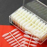 520 Pieces Box Artificial False Nails Ballerina Faux Ongles Press On Long Coffin