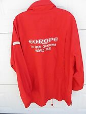 Vtg 1980's Adidas Europe The Final Countdown World Tour Parka Men's Us Size-40