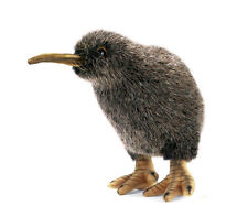 Kiwi bird collectable plush realistic soft toy by Hansa - 20cm - 3084