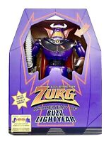 "Toy Story Emperor Zurg Disney Store Talking Light Up Action Figure 15"" New Sale"