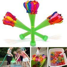 Globos de agua racimo de globo juegos aire libre fiesta piscina cumpleaños hogar