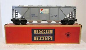 """Postwar Lionel 6346: """"ALCOA"""" Quad Hopper"""