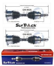 Chevy Avalanche Silverado 1500 2500 3500 Pair Front CV Axle Shafts SurTrack Set