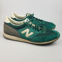 Men's NEW BALANCE '620' Sz 13 US Shoes Green Suede VGCon | 3+ Extra 10% Off
