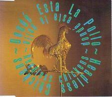 HEADLESS CHICKENS DONDE ESTA LA POLLO CD SINGLE VGC CRUISE CONTROL KARAOKE