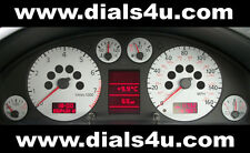 AUDI A4 (B5) FACELIFT MODEL (1997-2001) - 140mph / 160mph - WHITE DIAL KIT