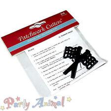 Pasta Di Zucchero Patchwork Cutter - Bandiere