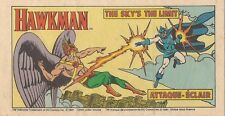 1981 POST CEREAL RARE CANADIAN MINI COMIC GIVEAWAY PROMO HAWKMAN SKY'S THE LIMIT