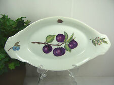 BIA Cordon Bleu PLUM Oval Gratin Serving Baking Appetizer Dish *Great Condition*