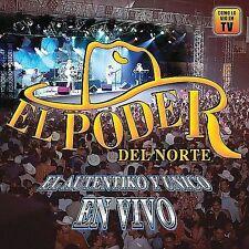 Poder Del Norte : Autentiko Y Unico En Vivo CD