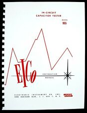 EICO Model 955 In-Circuit Capacitor Tester Instruction Manual
