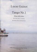 04002 Tango n. 1 per violino, pianoforte e bassista dall'Argentina