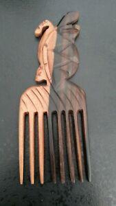 Comb Ebony Crafts Ethnic African Woman Beaute Beauty No