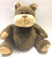 "Vintage 1983 Snuggables Graphics International Plush Bear 15"" Pot Belly Chubby"