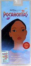 Pocahontas DISNEY Cassette TAPE NEW IN SEALED PACK 1995  Rare