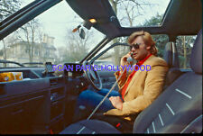 JOHNNY HALLYDAY 1970s DIAPOSITIVE DE PRESSE ORIGINAL VINTAGE #743