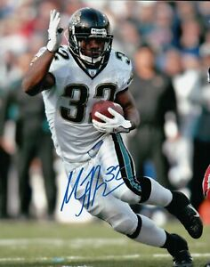 Maurice Jones Drew Signed 8X10 Photo Autograph Panthers Close-Up Run Auto w/COA