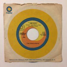 "Beach Boys Mexican Press Friends Little Bird 7"" Single Capitol Records Import"