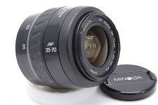 Minolta AF zoom 35-70mm 1:3. 5-4.5 SONY OBIETTIVO LENS a37 a57 a58 a77 a99 a850