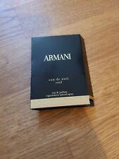 ARMANI-Eau de Nuit Oud-Eau de Parfum - 1,2 ML sample NEW