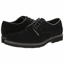 GBX Mens Beekman 13469 Velvet Denim Fabric Lace Up Casual Oxfords Black 8.5/9.5