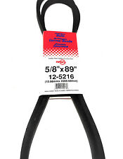 "5216/5L890 Rotary Belt (5/8""X89"") Compatible With Cub Cadet 754-3003, 954-3003A"